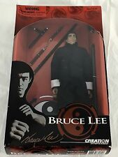 "Bruce Lee Action Figure 1/6 Scale Fully Poseable 10.5"" 1999 Creation Ent NIB"