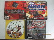 Lot of Games: Master of Orion 3 PC NHRA Drag Racing 2 Secret Service NBA Live 08