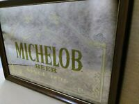 "Michelob Beer Advertising Mirror Sign  24 1/4 "" x 18 1/4"""