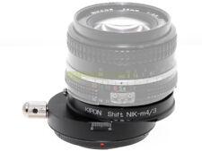 Adattatore SHIFT per obiettivi Nikon su corpi Micro 4/3. Adapter. x architettura
