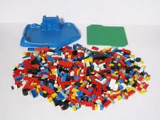 Lot of Loose Lego Pieces with 2 Building Bases