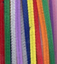 Craft Stem Chenille Pipe Cleaners Pack of 100 Multi Coloured 300mm x 4mm