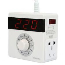 AC 4000w LED 220v Display Transformer Voltage Regulator High Power Converter Fan