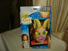 Crayola Funny Faces Zany Zoo: Create Virtual Masks: Free App: New In Package