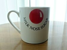 More details for red nose day comic relief funny collectable and rare mug - milk nose sugar