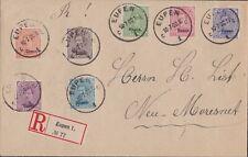 Eupen 1920, R- Brief 10.7.Eupen- Neu- Moresnet