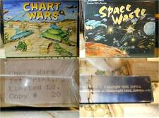 Chart Wars Space Waste Board Game Factory Sealed 1992 Limited Edition #20 War