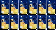 12 NIVEA Smoothness Lip Care Natural Balm Milk - Honey Soothing  0.17 oz