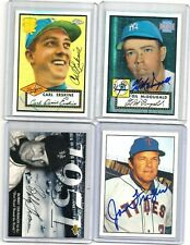 2001-TOPPS ARCHIVES RESERVE auto SIGNED-set/CARD #51 OF 100 gil McDOUGALD 1952