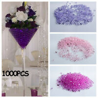 Table Ornament Confetti Party Decoration Wedding Acrylic Diamond Crystal Crafts