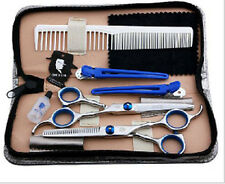 "6.0"" Set Pro Salon Barber Hair Cutting & Thinning Scissors Shears Hairdressing"