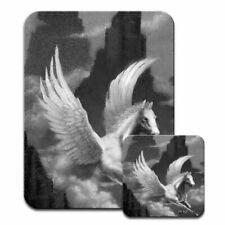 Pegasus Flying Horse Mouse Mat / Pad & Coaster