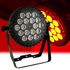 Lanta Fireball Tri Slim 3W x 18 LED High Power PAR 64 Stage Lighting DJ DMX