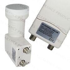 NEXspark Dual Twin Universal FTA KU Band 9750 LNB Satellite Dish LNBF 58dB Gain