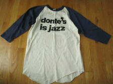 """Vintage Russell Label """"Donte's Is Jazz"""" (Lg) Baseball Long Sleeve Shirt"""