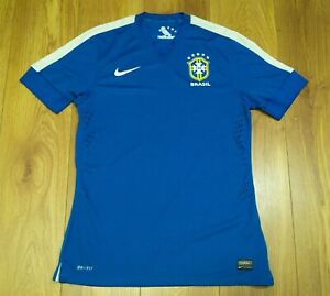 Brazil 2013 Player issue Authentic Away shirt / Jersey size L