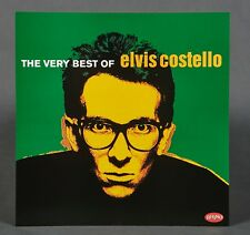 New listing The Very Best of Elvis Costello by Elvis Costello Promo Flat 12X12 Poster Rhino