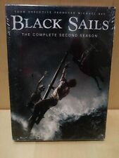 Black Sails The Complete Second Season DVD, 2015 (555 Minutes) NEW! SHIPS FREE!