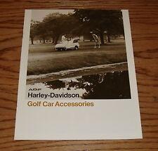 Original 1980 Harley-Davidson Golf Car Accessories Sales Brochure 80 AMF