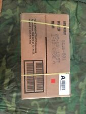 1 Case of Genuine US Military MRE's With A Test Date Of 5/18  (Case A)