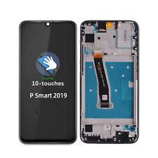 For Huawei P Smart 2019 LCD Digitizer Touch Screen + Frame Replacement Black