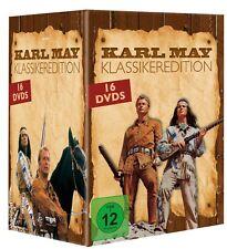 Winnetou & Karl May DVD Collection Box mit 16 DVDs - Klassiker Edition - NEU