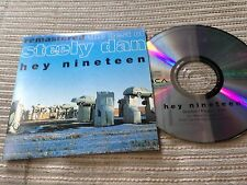 STEELY DAN SPANISH CD SINGLE SPAIN 1 TRACK PROMO HEY 19 CARD SLV REMASTERED ROCK