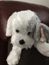 """TY MATLOCK THE DOG BEANIE BABY 5""""X7""""-2007 RELEASE-MWNMT-RETIRED-NICE GIFT"""