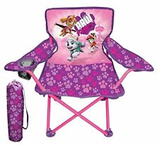 Paw Patrol Chair Girls Seat Fold N GO Kids Travel Furniture With Carry Bag NEW