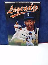 1991 Cecil Fielder Legends Sports Memorabilia Magazine