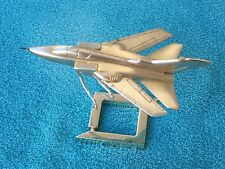 PANAVIA MRCA TORNADO COLLECTOR'S AIRPLANE MODEL 1:100 SCALE SILVER PLATED