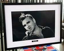 More details for morrissey luxury framed-ltd edition-the smiths-incredible quality-certificate