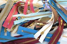 50 Assorted Jeans Zippers ( Joblot, Bundle )