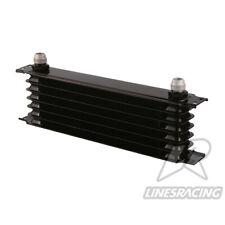 LINESRACING black 7 Row AN10 oil cooler for Janpan car/ 10AN engine oil cooler