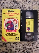 My Pet Monster Golden Book VHS Storybook Brought to Life FREE SHIPPING