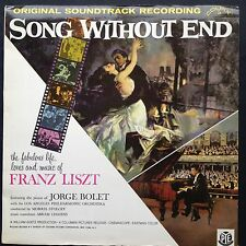 Morris Stoloff Franz Liszt SONG WITHOUT END soundtrack LP Dirk Bogarde Capucine
