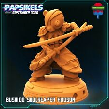 "Cyberpunk ""Bushido Soul Reaper Hudson"" Papsikels   28mm-35mm   DnD  RPG Boneshop"