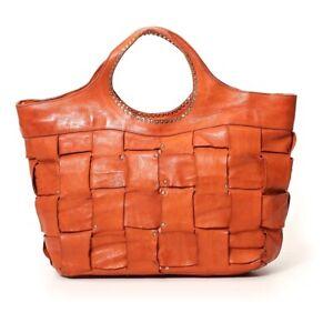 Campomaggi Leather Shopping Bag