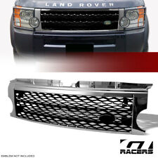 For 2005-2009 Land Rover Lr3 Discovery 3 Chrome/Black Mesh Front Bumper Grille