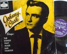 JOHNNY CASH Songs That Made Him Famous ~ VINYL LP
