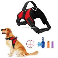 Dog Strap Harness for Large Dogs Heavy Duty No Pull Reflective Nylon with Handle
