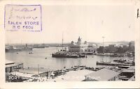 BR44142 Port said general view of the harbour egypt