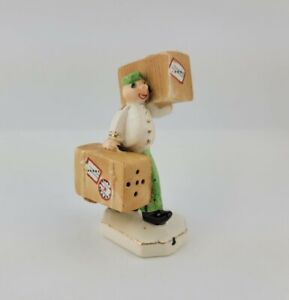Vintage Mid Century Bellhop Suitcase Dual Salt And Pepper Shaker Japan