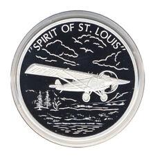 FLUGZEUG - Spirit of St. Louis - SILBER - ANSCHAUEN (14748/1870N)