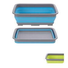 Faltbare Spülschüssel 8L Waschbecken Faltschüssel Camping Spüle Waschschüssel
