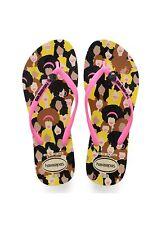 Havaianas - Womens Flip Flops - Slim Cool - 4119872-0121 - Beige