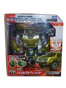 Transformers Prime Bulkhead Takara/Tomy BNIB AM-10 Original Release
