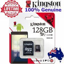 SD SDHC SDXC MicroSD Card 128GB Kingston Class 10 Mobile Camera Memory Card SLR