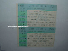 2 Yanni 1994 Concert Ticket Stub Lot Indianapolis Deer Creek Women's Hospital