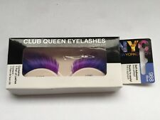NYC New York Color Self-Adhesive Club Queen Eyelashes 988 Blue